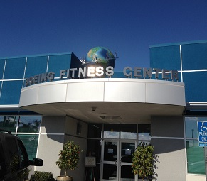 Architectural Signage for Boeing Fitness Center