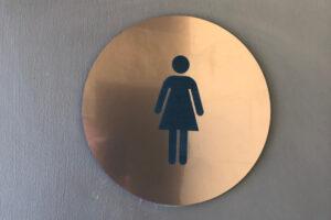 Copper ADA Signs - Women's Restroom