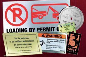 Room ID Signs - Anaheim, CA