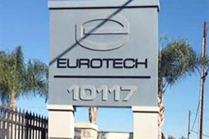 Pylon Sign - Eurotech, Bellflower, CA