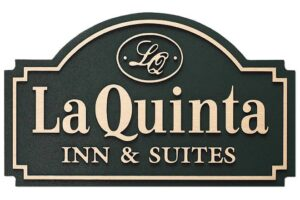 La Quinta Inn & Suites - Cast Aluminum Plaque