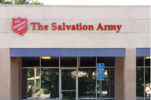 Salvation Army Sign with Channel Letters