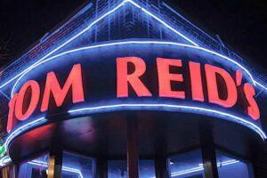 Formed Plastic Letters Illuminated - Tom Reid's