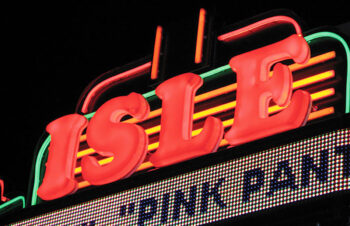 Isle theatre - Gemlite Letter Illuminated Signs