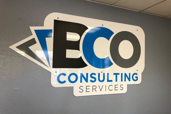 Acrylic logo - BCO Consulting