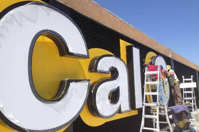 Building Top Signage with Channel Letters - Orange County, CA