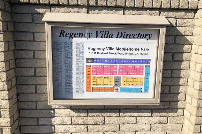 Exterior directory - Regency Villa