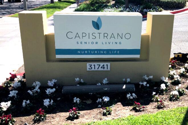Monument signs - Capistrano Senior Living