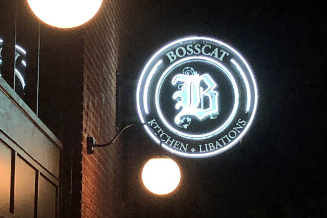 Neon Sign - Bosscat