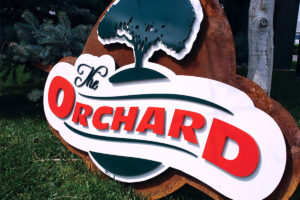 Multi-Dimensional Letters Layered Metal Sign